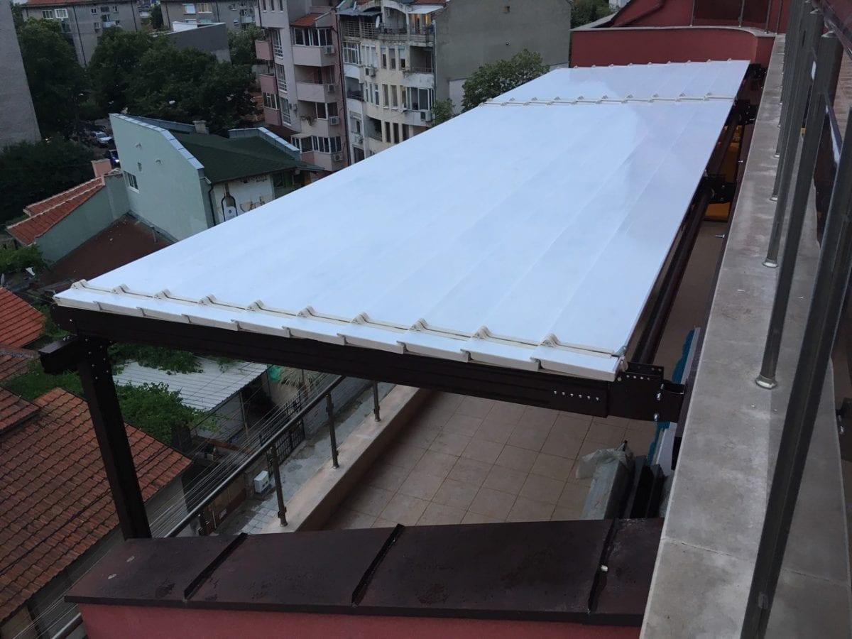 алуминиева пегола за тераса