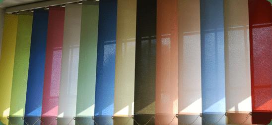 цветни вертикални щори