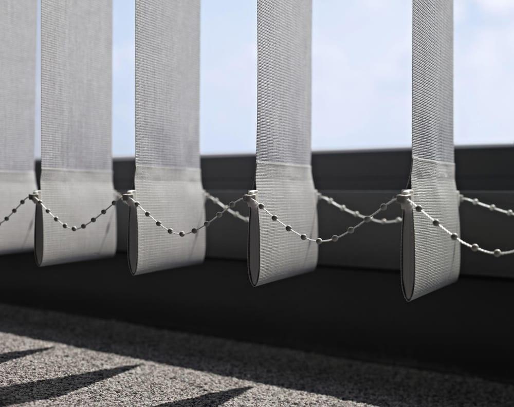 вертикални щори от плат