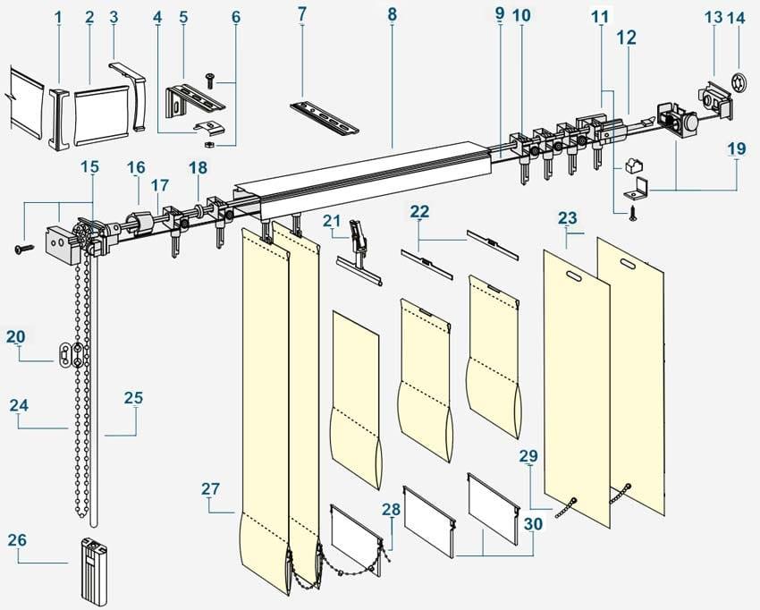 инфо за вертикални щори