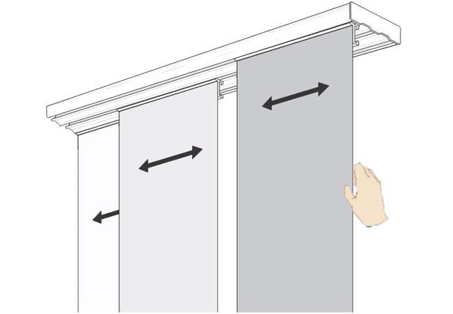 Щори тип японска стена