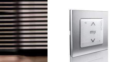 бутон на стената за дистанционно управление