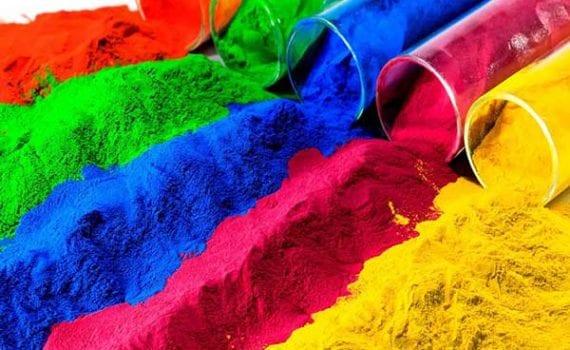 прахово боядисване цветове