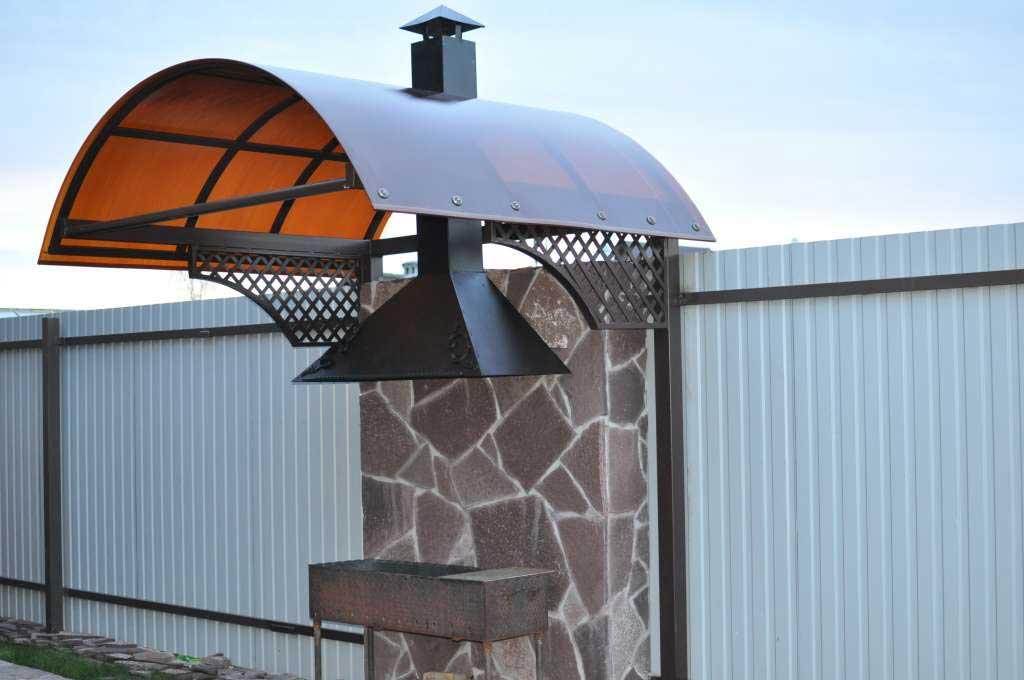 покрив барбекю