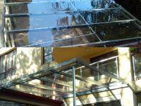 метален навес с поликарбонат